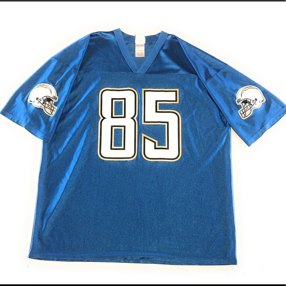 Antonio Gates Chargers Power blue Jersey Classic